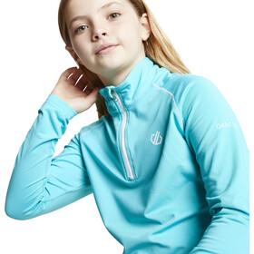 Dare 2b Consist II Core Camiseta de Manga Larga Stretch Niños, Turquesa
